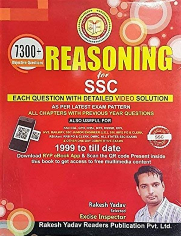 7300+ reasoning questions for ssc