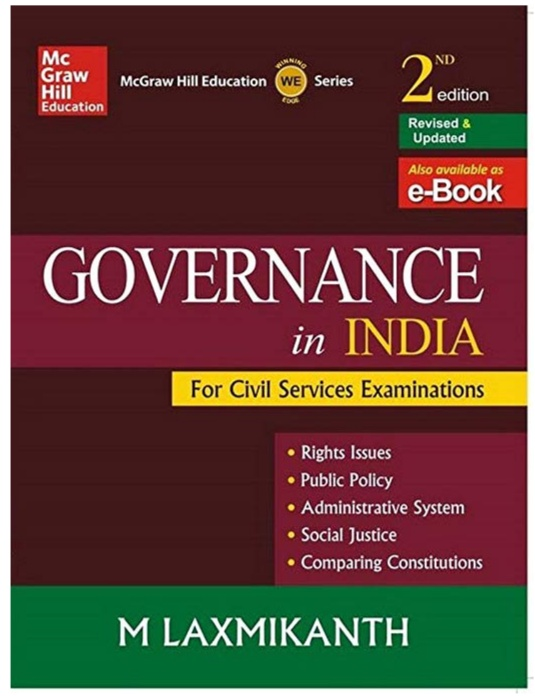 Governance Of India By M. Laxmikant