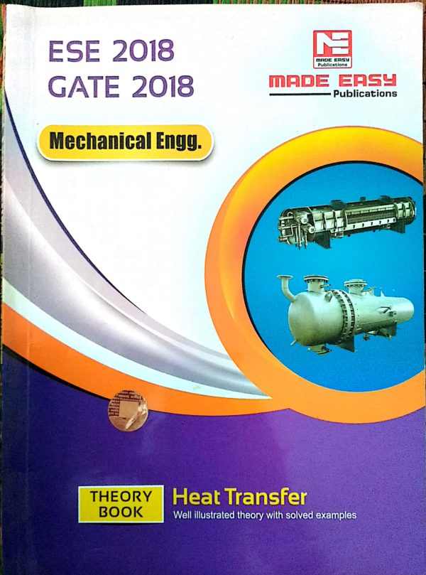 Heat And Mass Transfer Old Book