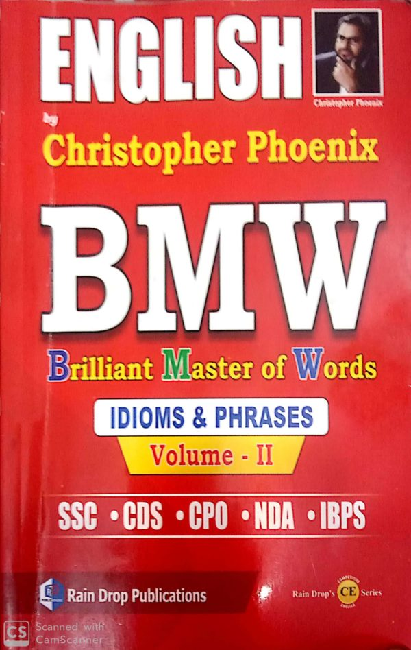 idopms and phrases by christopher bmw