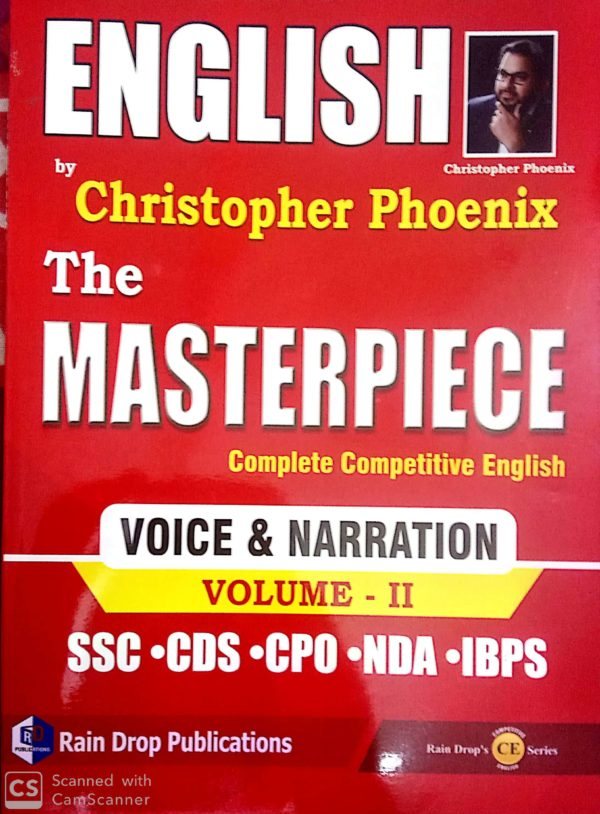 masterpiece by christopher phoenix voice and narrration
