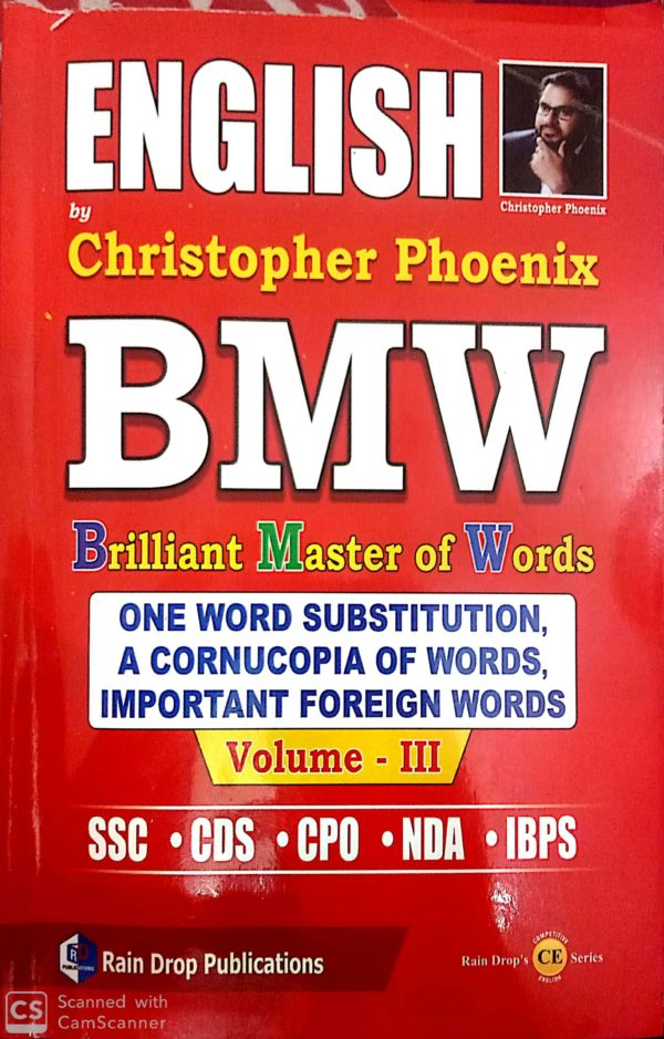 one word substitution BMW by Christopher phoenix