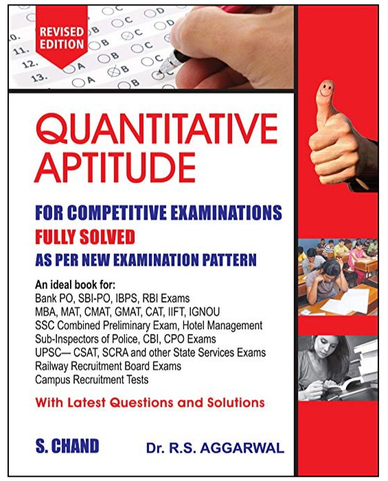 quantative apptitude by rs aggarwal
