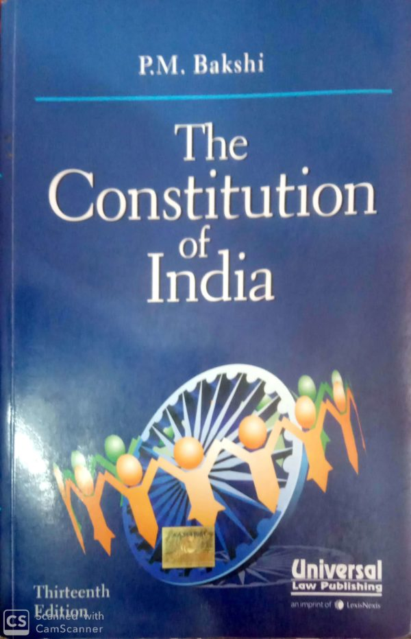 the constitution of india by p.m. Bakshi