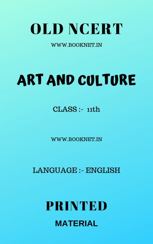 NCERT OLD ART AND CULTURE