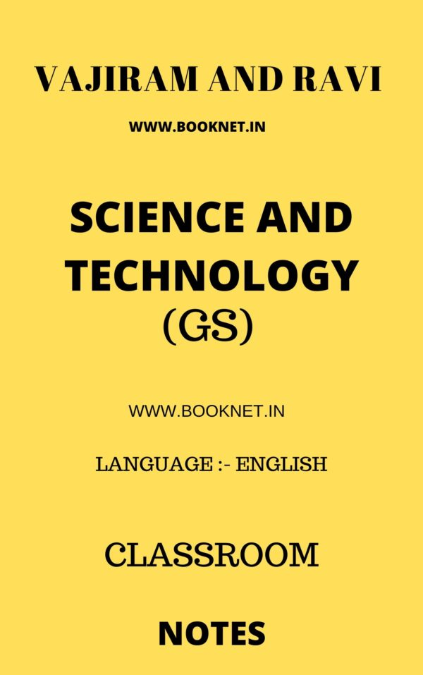 SCIENCE AND TECHNOLOGY BY VAJIRAM AND RAVI