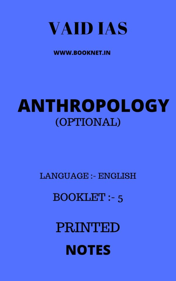 anthropology notes by vaid ias
