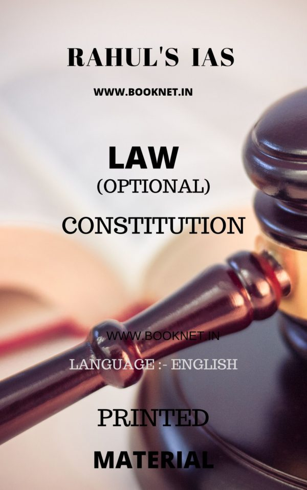 CONSTITUTION LAW OPTIONAL