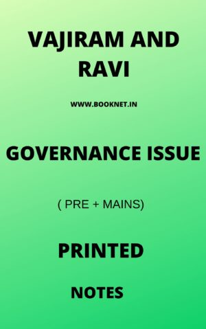 GOVERNANCE ISSUEBY VAJIRAM